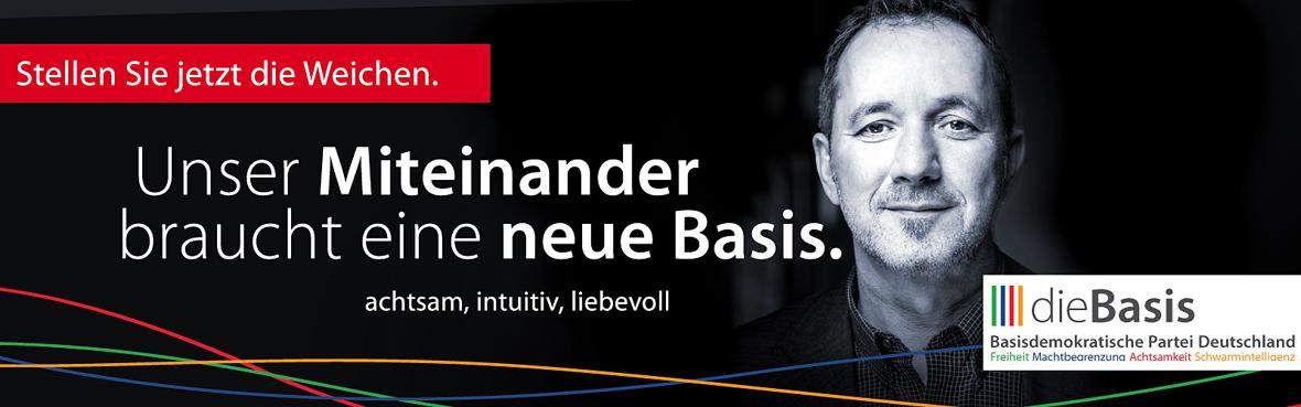 Unser Miteinander braucht eine neue Basis Ulrich Kappl dieBasis