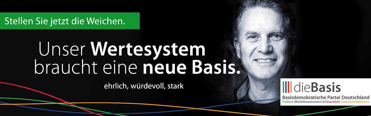 Unser Wertesystem braucht eine neue Basis Michel Kreutler dieBasis