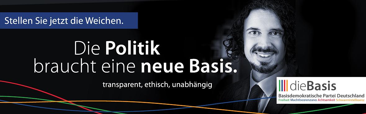 Die Politik braucht eine neue Basis Uli Reith dieBasis